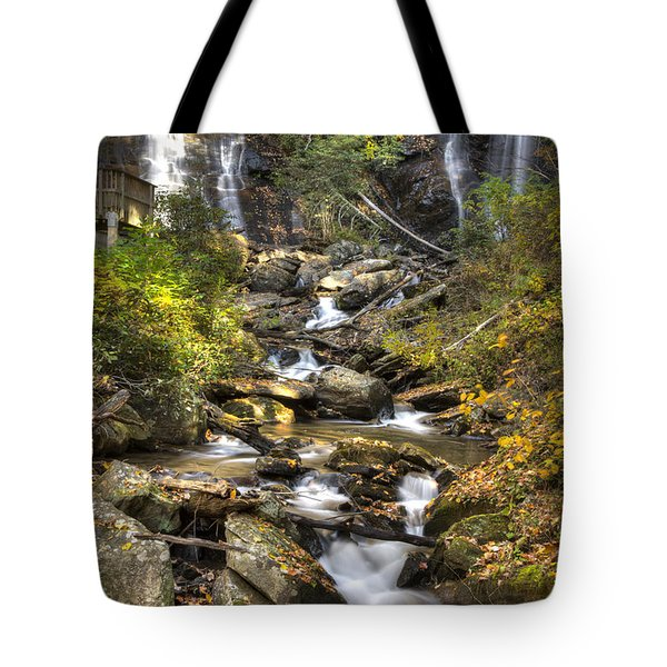 Ana Ruby Falls In Autumn Tote Bag