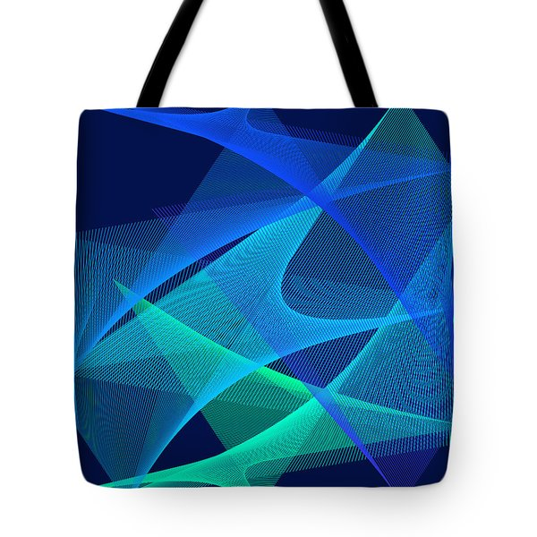 Tote Bag featuring the digital art Analgesic by Karo Evans