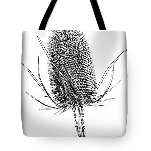 Anatomy Of A Weed Solarized Tote Bag by Steve Harrington