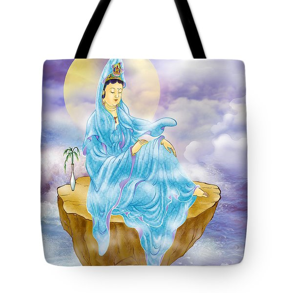 Tote Bag featuring the photograph Anavatapta Kuan Yin by Lanjee Chee
