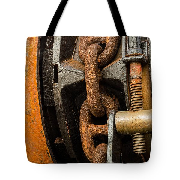 Anchor Chain - Tall Ship Elissa Tote Bag