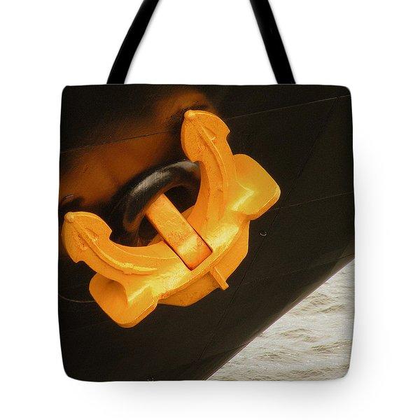 Anchor Waiting Tote Bag