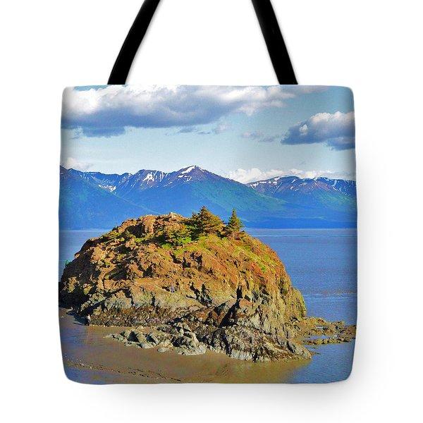 Anchorage Alaska Tote Bag