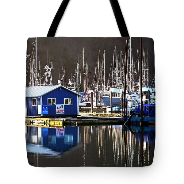 Anchovies For Sale Tote Bag