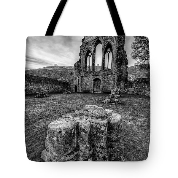 Ancient Abbey Tote Bag by Adrian Evans
