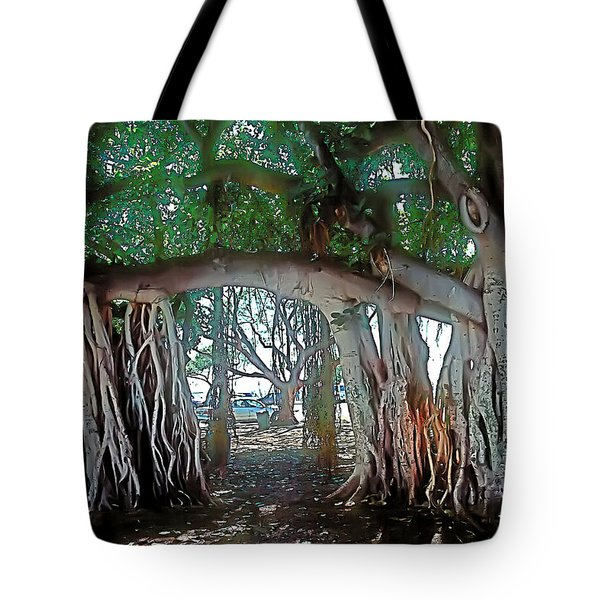 Ancient Arch Tote Bag
