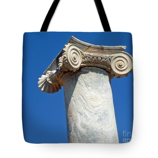 Ancient Delos Greece Tote Bag
