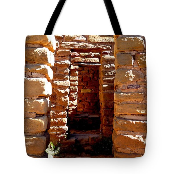 Tote Bag featuring the photograph Ancient Doorways by Alan Socolik