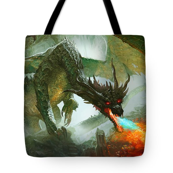 Ancient Dragon Tote Bag