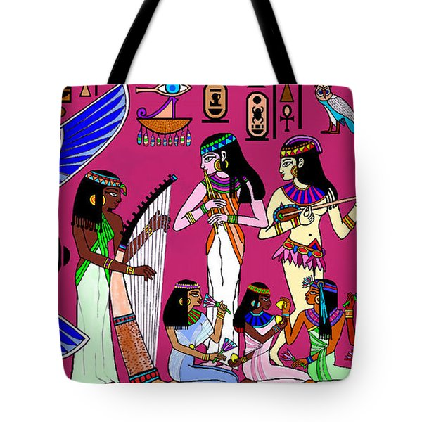 Ancient Egypt Splendor Tote Bag