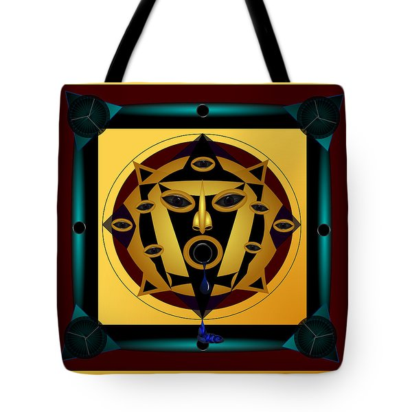 Ancient Eyes Tote Bag