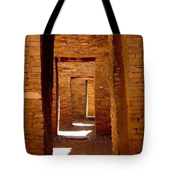 Ancient Galleries Tote Bag by Joe Kozlowski