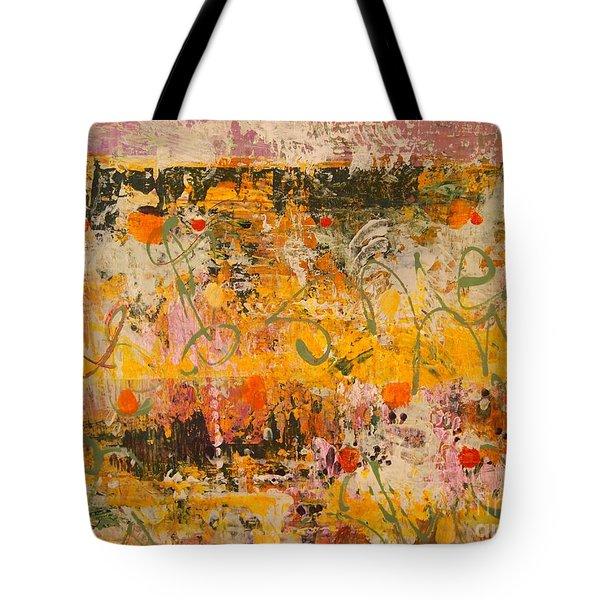 Ancient Gardens 4 Tote Bag by Nancy Kane Chapman