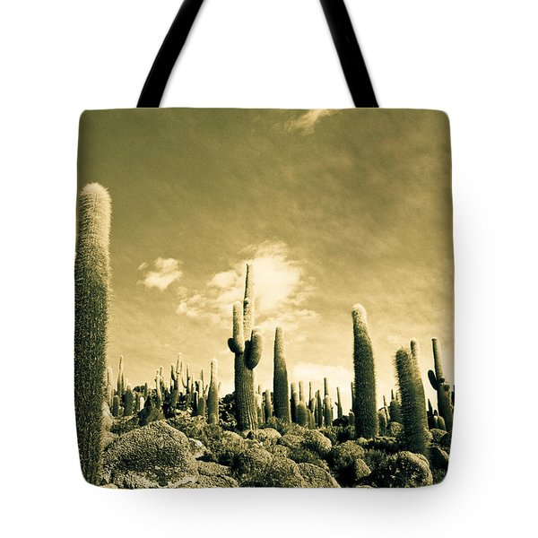 Ancient Giants Tote Bag by Lana Enderle
