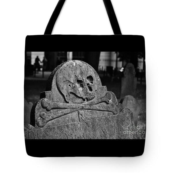 Ancient Gravestone Tote Bag