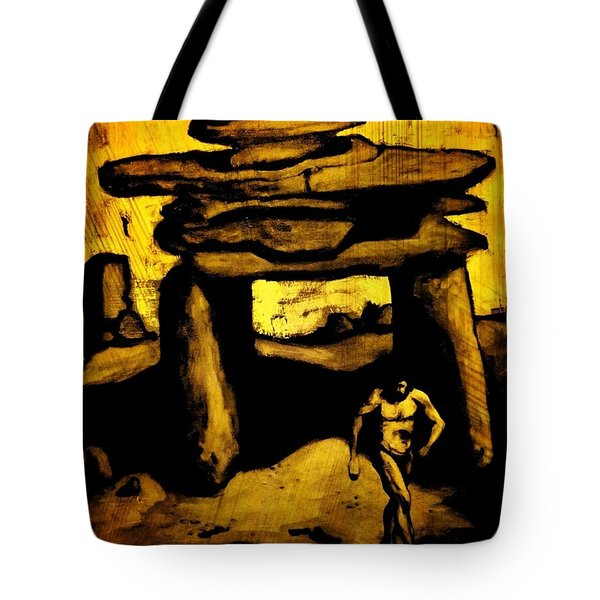 Ancient Grunge Tote Bag by John Malone