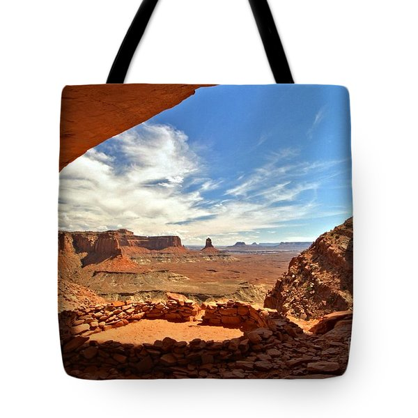 Ancient Life Elevated Tote Bag by Adam Jewell