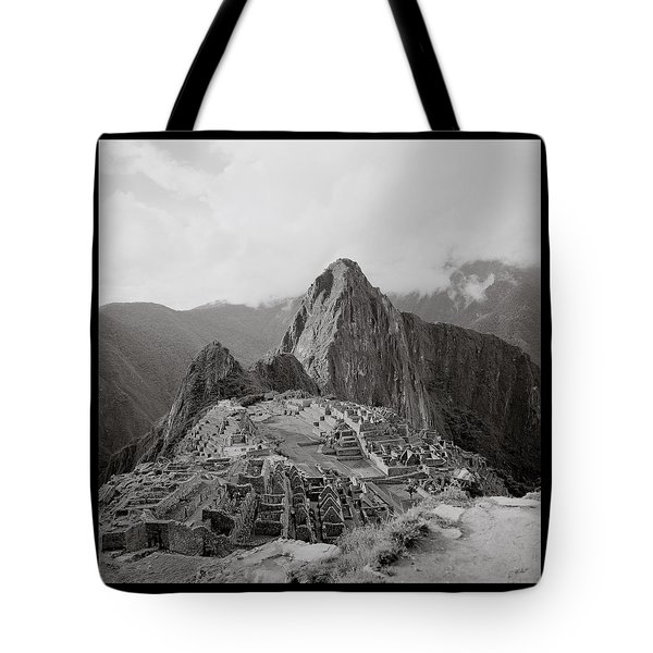 Ancient Machu Picchu Tote Bag