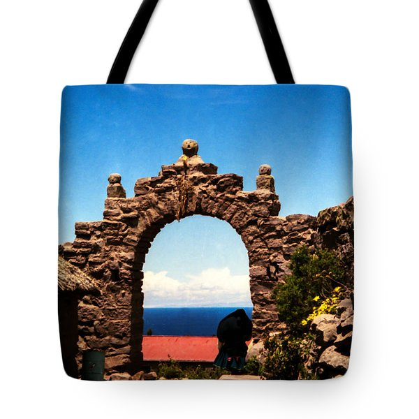 Ancient Portal Tote Bag by Suzanne Luft