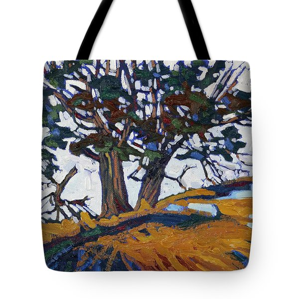 Ancient Red Cedars Tote Bag