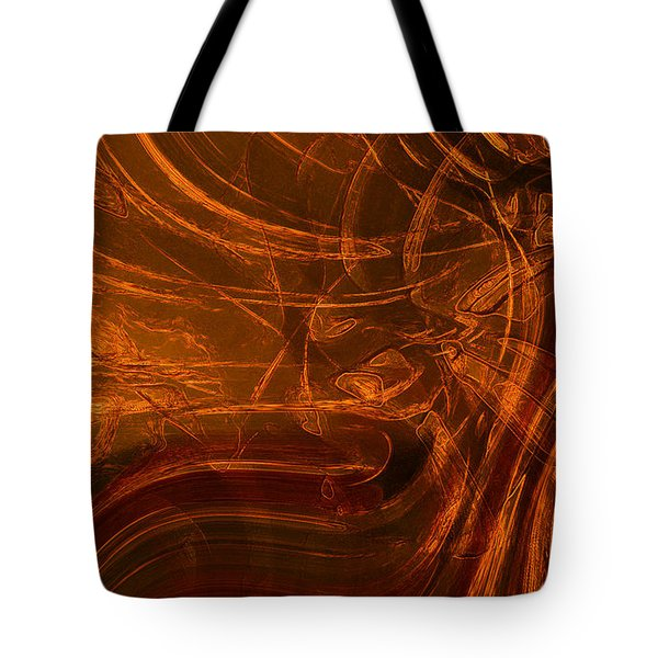 Tote Bag featuring the digital art Ancient by Richard Thomas