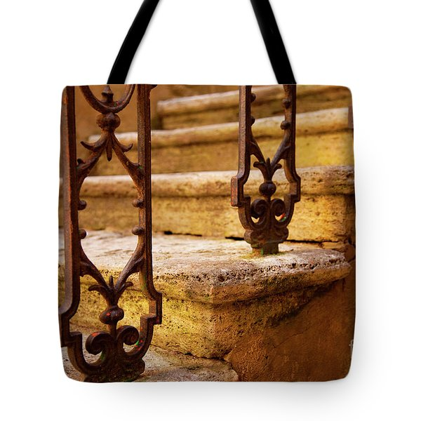 Ancient Steps Tote Bag by Brian Jannsen