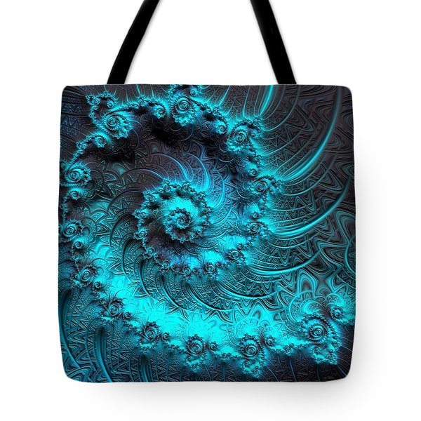 Ancient Verdigris -- Triptych 1 Of 3 Tote Bag