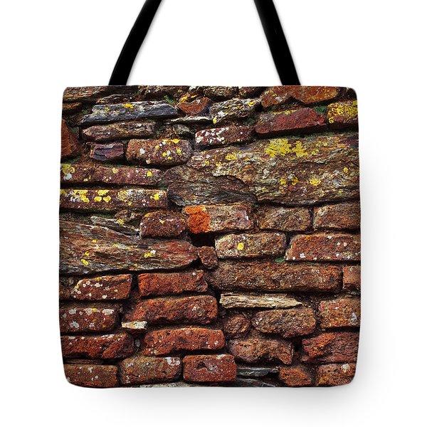 Ancient Wall Tote Bag by Carlos Caetano