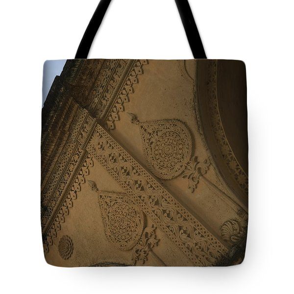 Tote Bag featuring the photograph Ancient Wall by Mini Arora