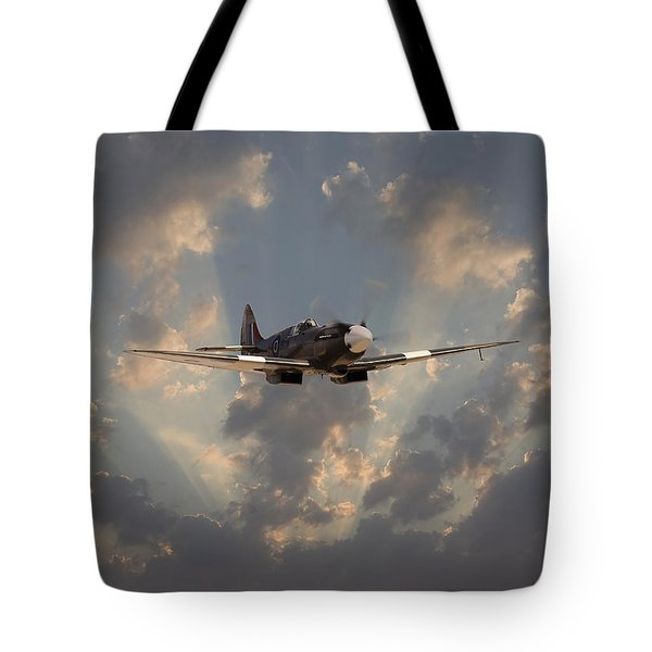 And Comes Safe Home Tote Bag