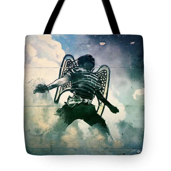 And I Heard As It Were The Noise Of Thunder.. Tote Bag by A Rey