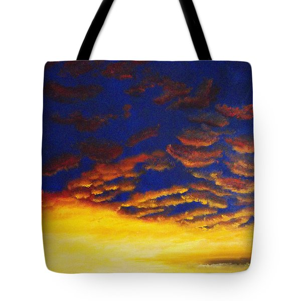 And Never Leave Tote Bag by Jeni Bate