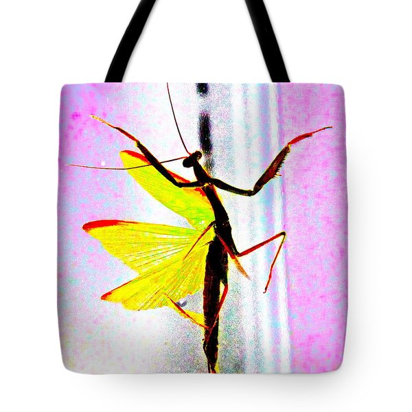 Tote Bag featuring the photograph And Now Our Featured Dancer by Xn Tyler
