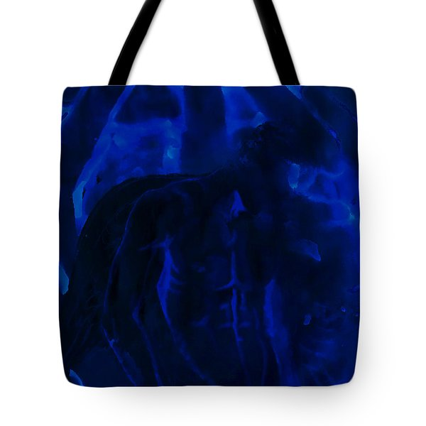 And Out In The Pouring Rain Tote Bag