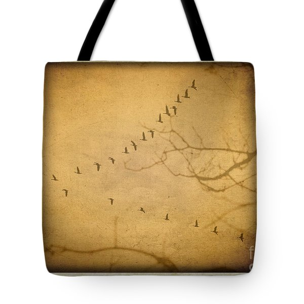 And So They Fly Tote Bag