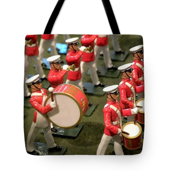 And The Band Plays On Tote Bag
