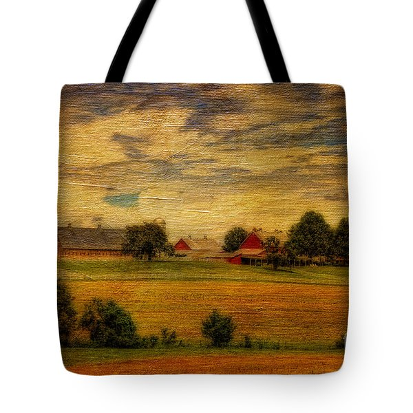 And The Livin' Is Easy Tote Bag by Lois Bryan
