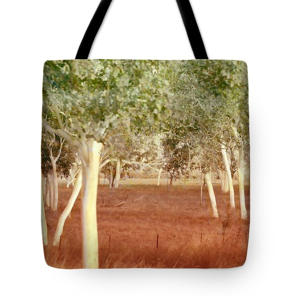 And The Trees Danced Tote Bag by Holly Kempe