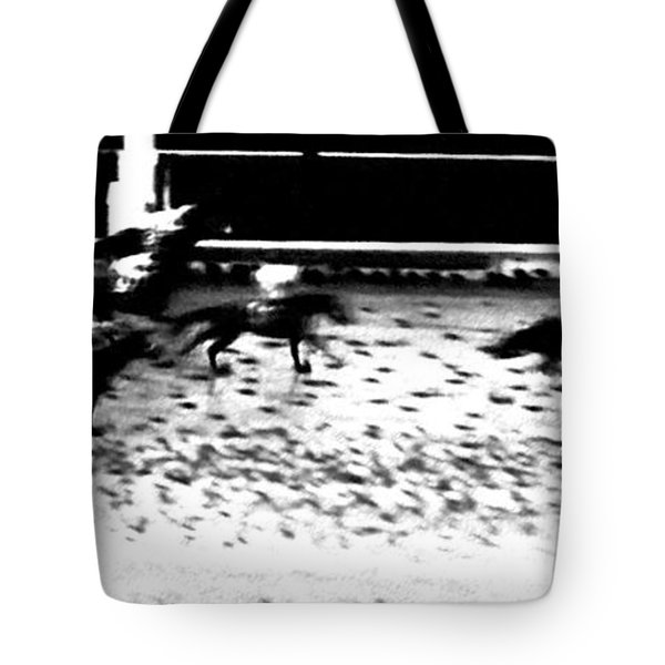 And The Winner Is ... Tote Bag by George Pedro