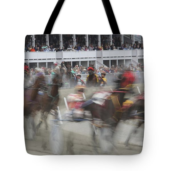 And They Are Off Tote Bag