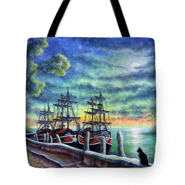 And We Shall Sail My Love And I Tote Bag