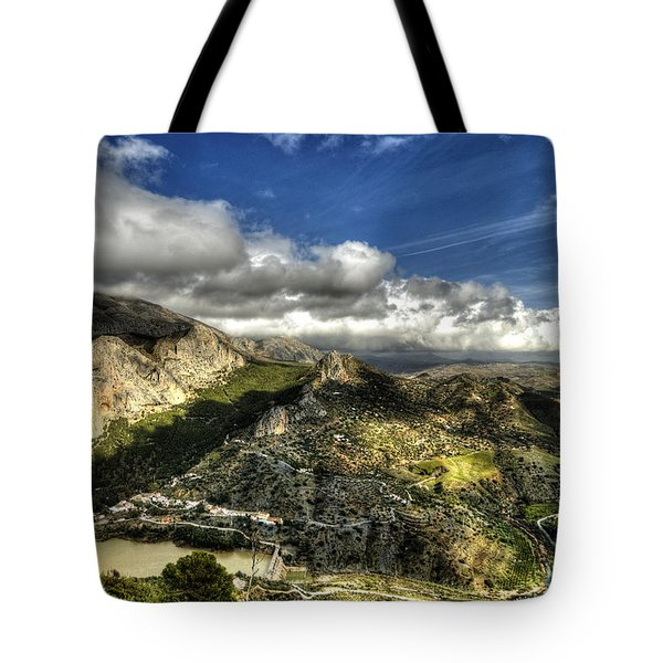 Tote Bag featuring the photograph Andalusia - Mountain View by Julis Simo
