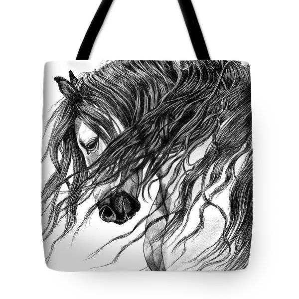 Andalusian Arabian Head Tote Bag
