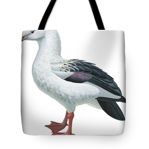 Andean Goose Tote Bag by Anonymous
