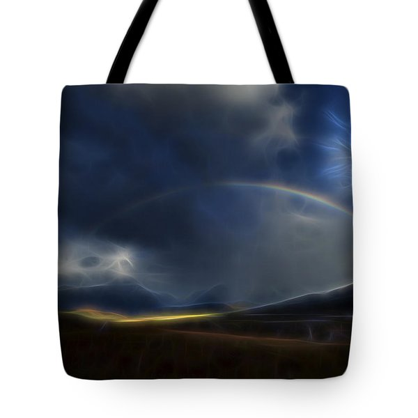 Andean Rainbow Tote Bag by William Horden