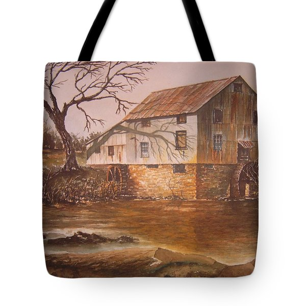Anderson Mill Tote Bag by Ben Kiger