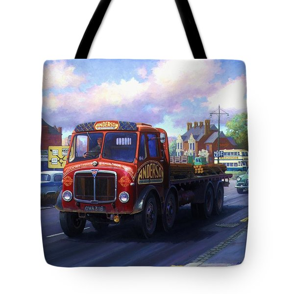 Andersons Of Newhouse. Tote Bag by Mike  Jeffries