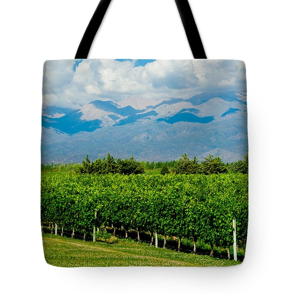 Andes Vineyard Tote Bag