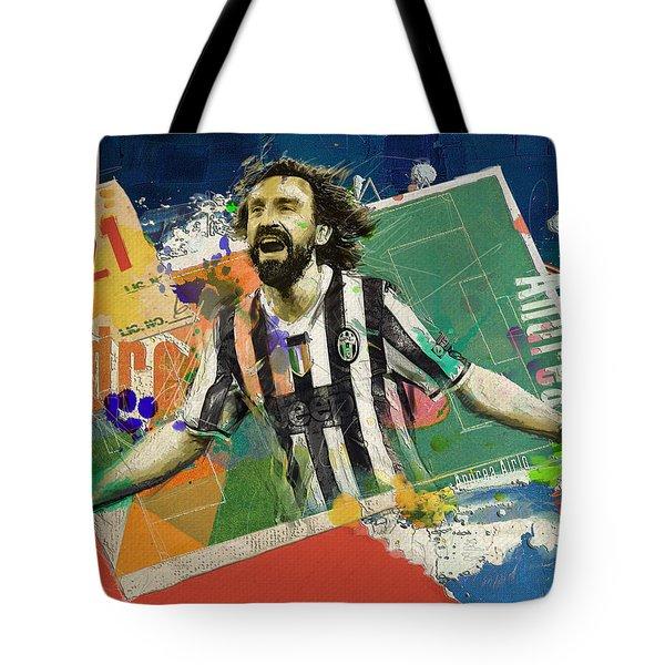 Andrea Pirlo Tote Bag