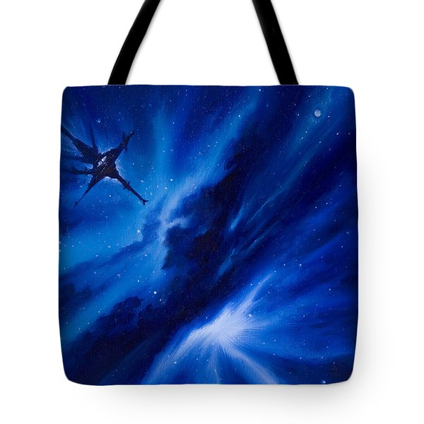 Andreas Nebula Tote Bag by James Christopher Hill